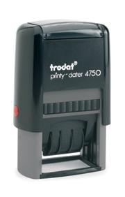 trodat printy line fechador 4750