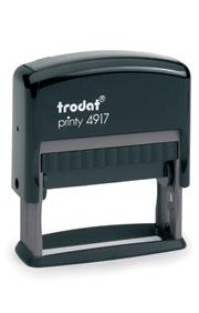trodat printy line texto 4917